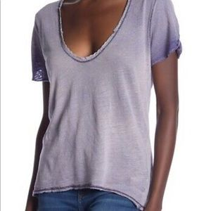 NWT Free People short sleeve shirt